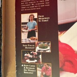 """as seen on TV Kitchen - """"Keep It Hot """"as Seen On TV Hot Plate"""